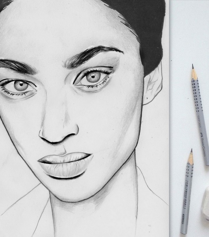 Anais Mali drawing by Nancy Adjei