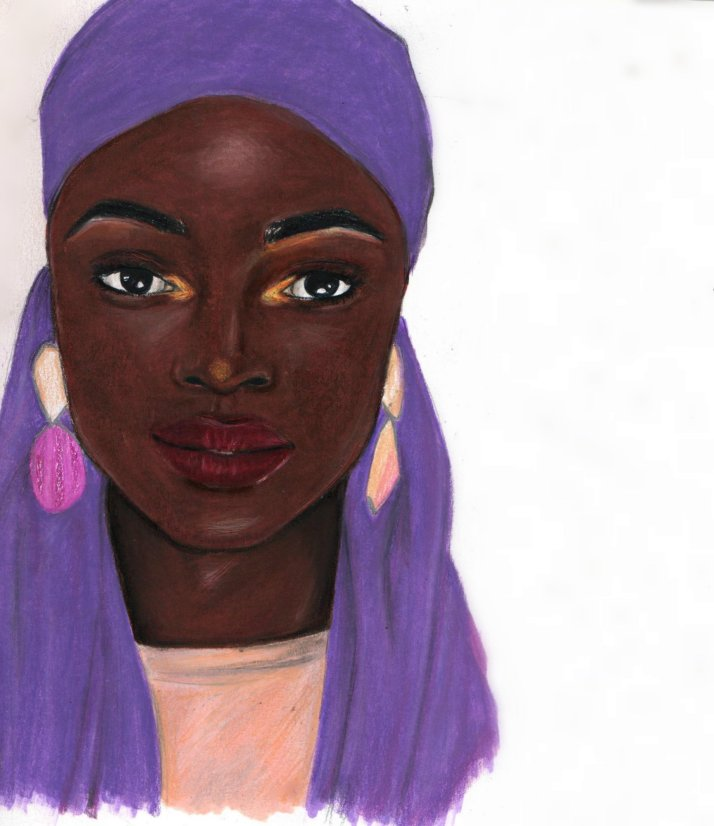 Soukeyna art by Nancy Adjei